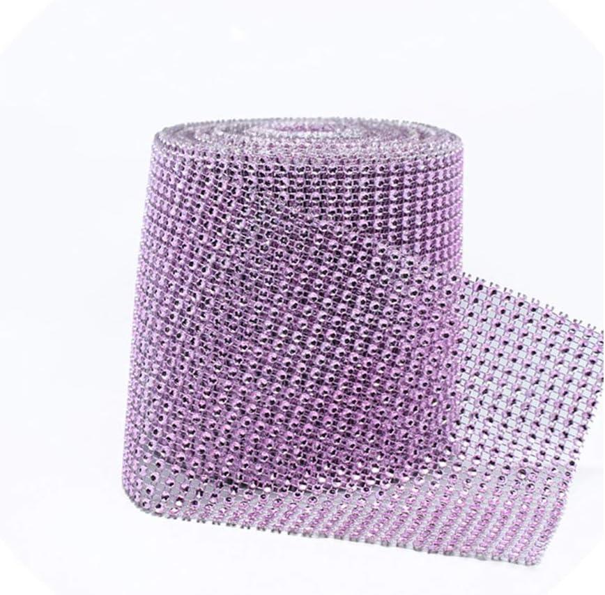 Amazon Com 12cm 91 5cm Bling Diamond Mesh Roll Event Party