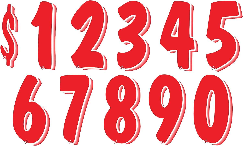 Matte Black-w//White/&Red #2/'s  Racing Numbers Vinyl Decal Sheet 1//10-1//12 slash