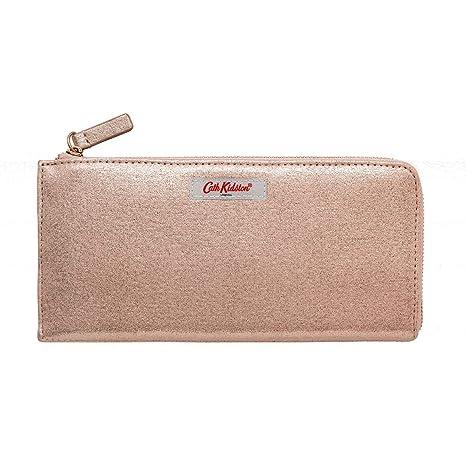 Cath Kidston - Cartera para Mujer Oro Rosa 22x11x1cms ...