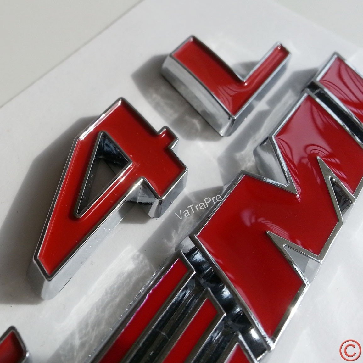 zorratin 6.4 L HEMI Emblem Badge Plate Decal with Sticker for Dodge Challenger SRT 6.4L SRT8 Jeep red+white