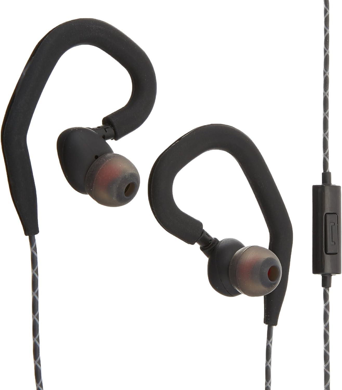 Venstone X1 Kopfhörer Laufschweißbeweis Dicht Knopf Kontroll Mit Mikrofon Und Ohrhörer Sichere Ohrbügel Ohrhörer Schwarz Audio Hifi
