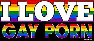 Artisan Owl I Love Gay Porn - Flexible Car Auto Bumper Magnet - Hilarious!