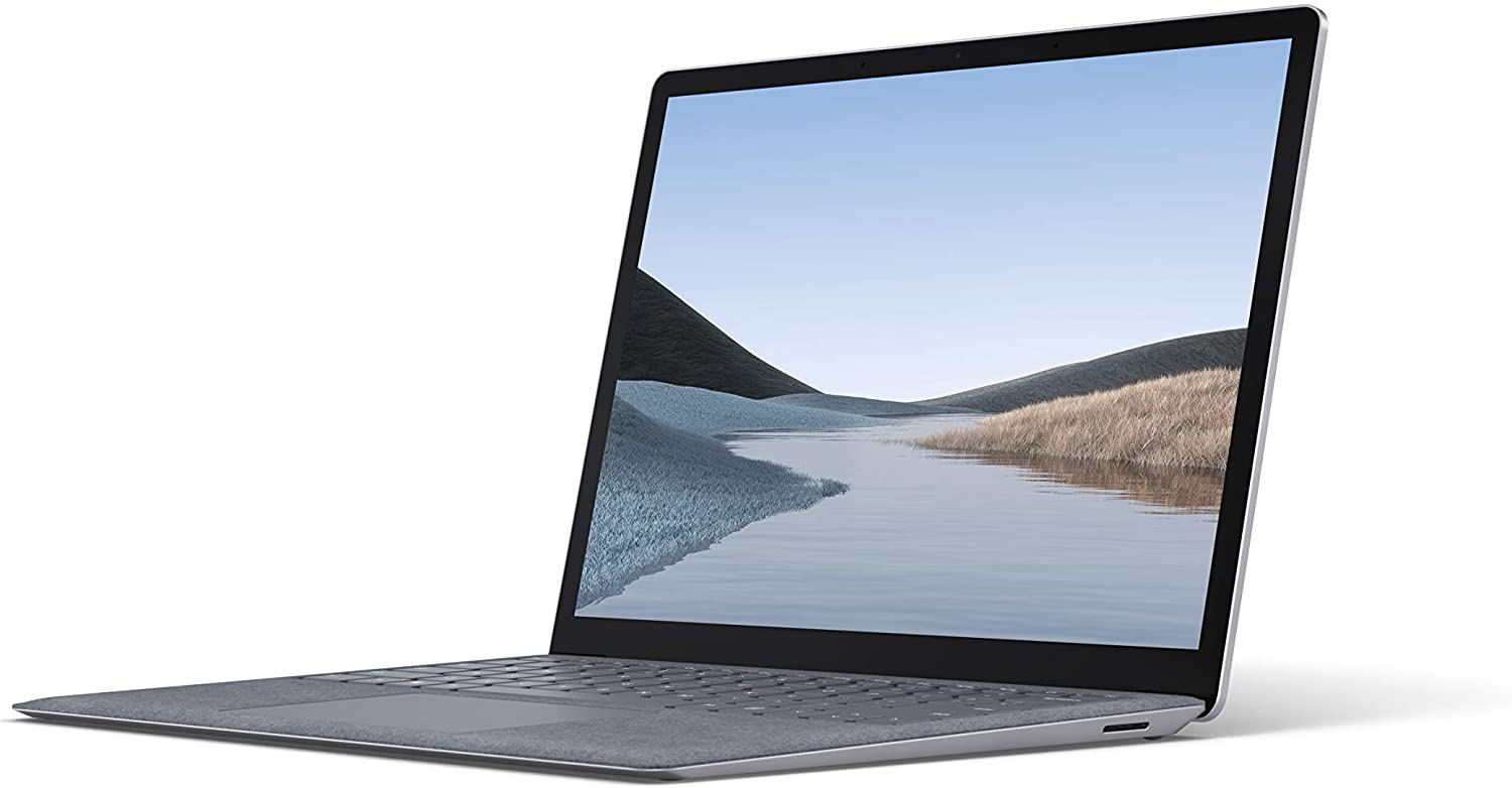 "Microsoft Surface Laptop 3 – 13.5"" Touch-Screen – Intel Core i7 - 16GB Memory - 256GB Solid State Drive (Latest Model) – Platinum with Alcantara"
