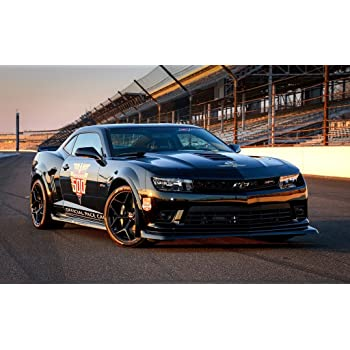Amazon 2014 Chevrolet Camaro Z28 Indy 500 Pace Car 11x17 Poster