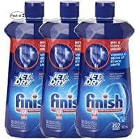 Finish Jet Dry Rinse Action 621ml (Pack of 3)