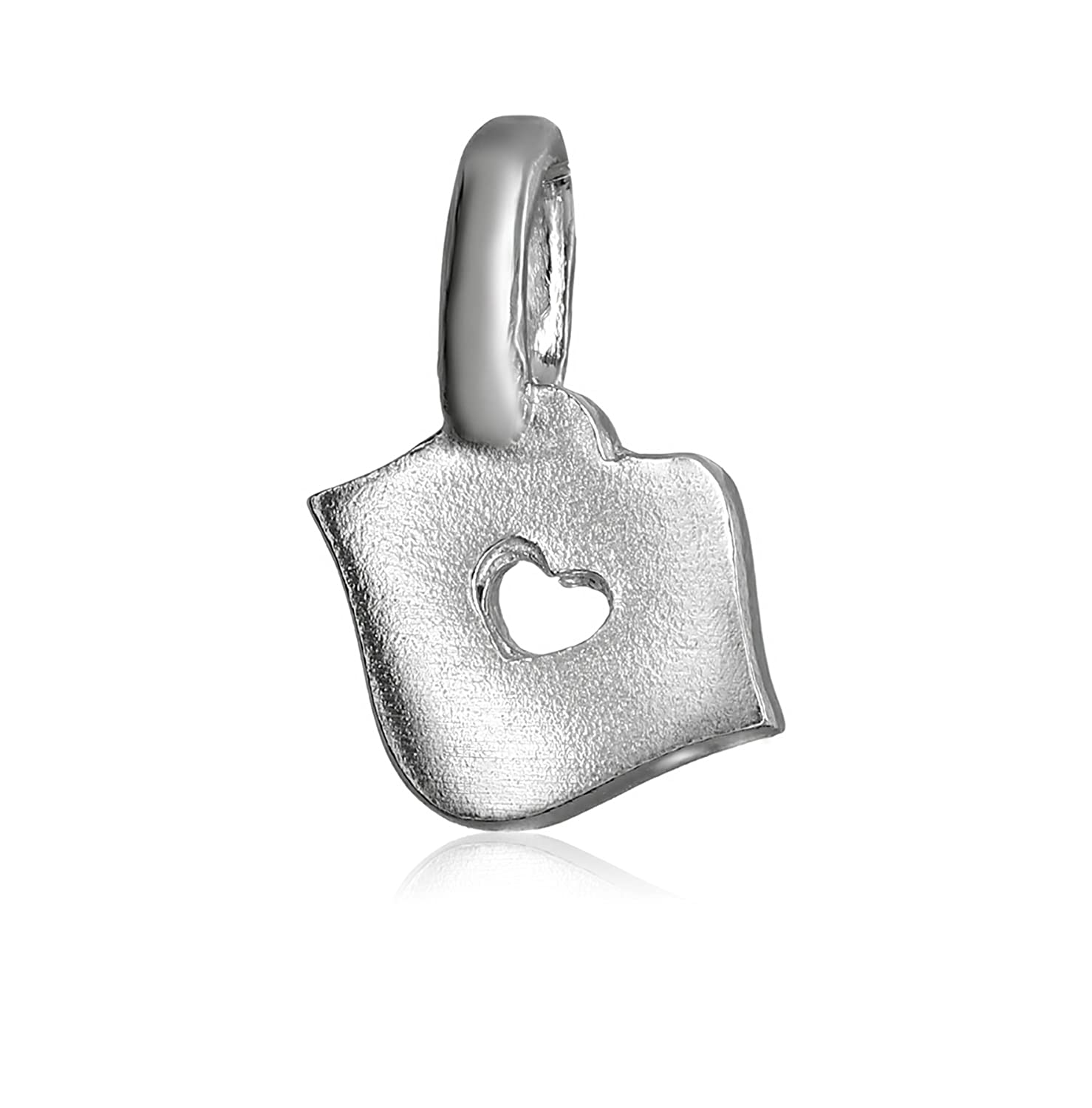 Alex Woo Mini Additions Sterling Silver Kiss Charm