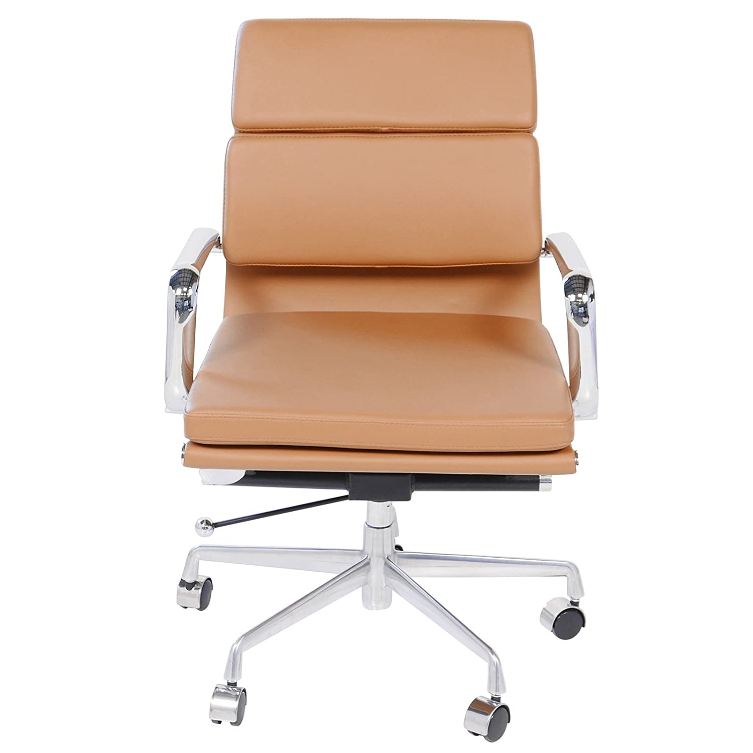 Amazon Eames Style Executive Leather fice Chair Brown