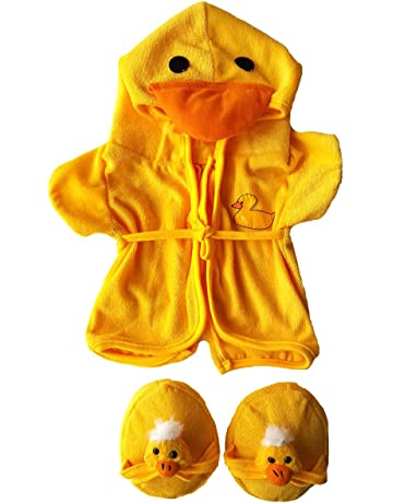 47f3e07e76b Duck Robe   Slippers Pajamas Outfit Teddy Bear Clothes Fit 14