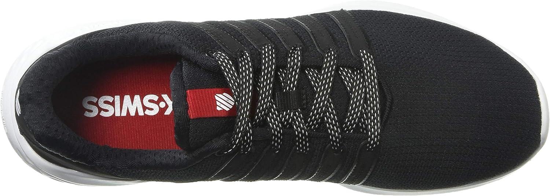 K-Swiss Men's District Sneaker, Black