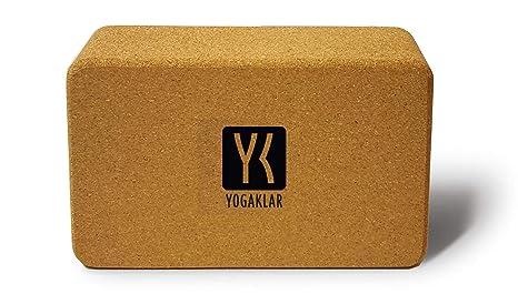 Bloque de corcho para yoga Yogaklar, 100% Natural y sin sustancias nocivas. A PUNTO para el YOGA!