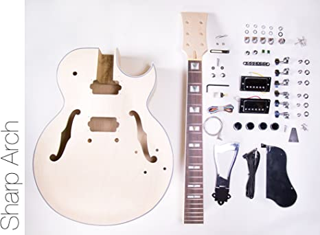 DIY Kit de guitarra eléctrica 175 Jazz estilo construir su propio ...