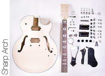 DIY Guitarra Eléctrica Kit 175 Jazz Guitarra construir su propio estilo Kit: Amazon.es: Instrumentos musicales