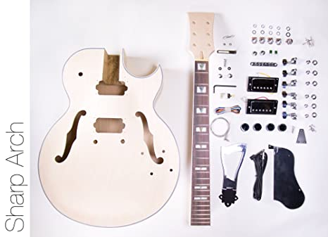 DIY Kit de guitarra eléctrica 175 Jazz estilo construir su ... Music Man Luke Guitar Wiring Diagrams on