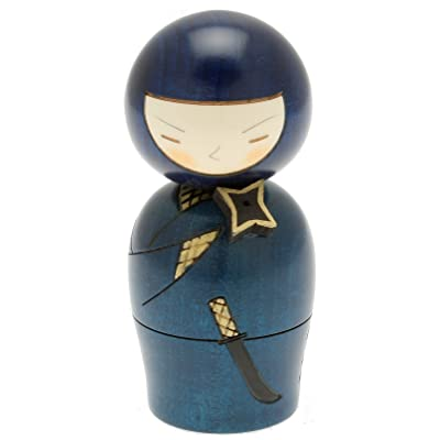Usaburo Japanese Kokeshi Doll, Mysterious Ninja: Home & Kitchen