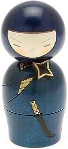 Usaburo Japanese Kokeshi Doll, Mysterious Ninja
