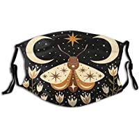 Under the three moons Face Decoration Scarf Mask Anti Dust Masks Washable Reuseable Cotton Sport Mask