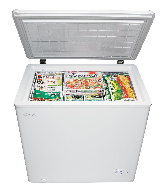 Amazoncom Danby DCF055A1WDB1 Chest Freezer 55 Cubic Feet White
