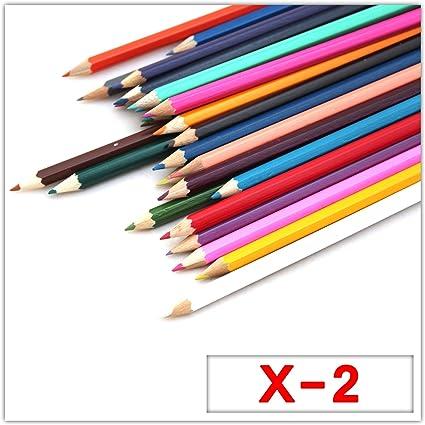 30 lápices de colores dibujo Sketching Pintura para Niños libro Craft Art Sketch Actividad Fun Artista Escuela Niños para fiestas, color 30 Pack x 2: Amazon.es: Oficina y papelería