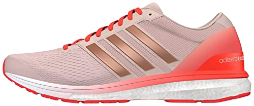 brand new fabb1 337f9 adidas Adizero Boston 6 W, Womens Competition Running Shoes, Pink (Vapour  Pink