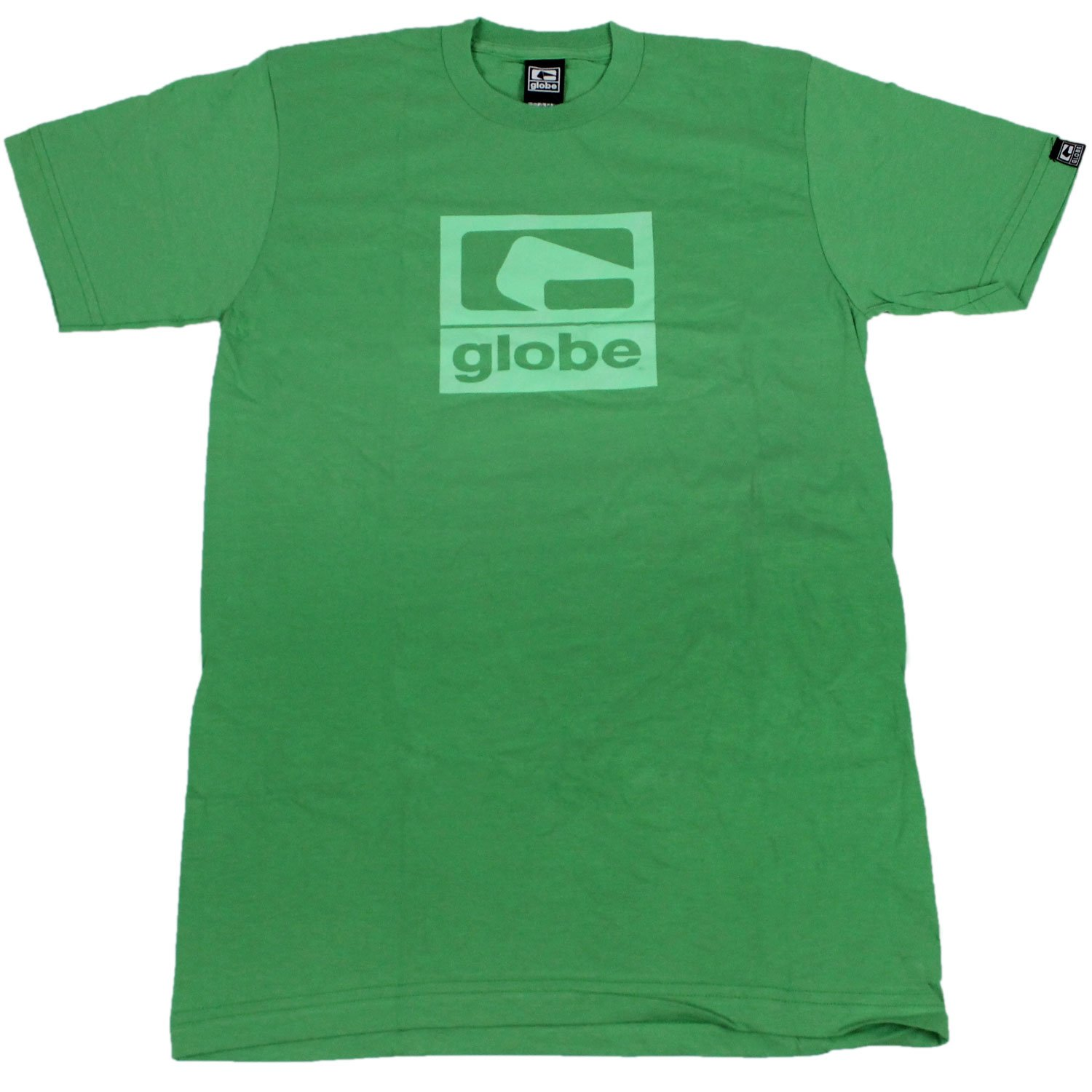 GLOBE Skate Shoes SHIRT G-2 Slim Lime Sz SMALL