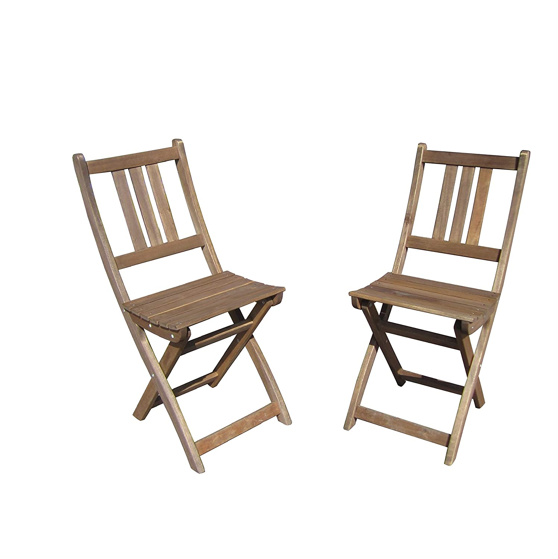 TAMPA Klappstuhl 2er Set (2x Klappstuhl ohne Tisch)