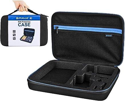 La bolsa de herramientas de la cámara LGMIN realizacion impermeable y estuche de viaje for DJI Nueva acción, GoPro nuevo héroe / HERO7 / 6/5/5 Sesión / 4 Sesión / 4/3 + / 3/2/1, Xiaoyi y Otros Cámaras: Amazon.es: Electrónica