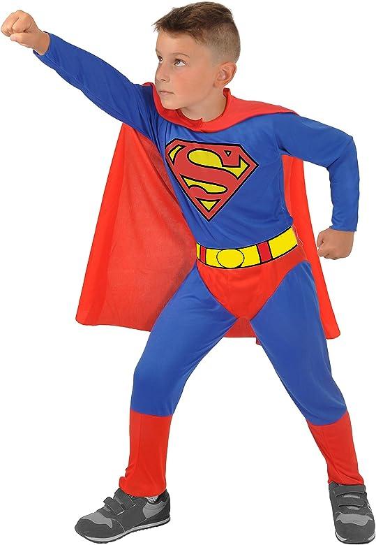 Ciao Superman Costume Bambino Originale DC Comics (Taglia Anni ...