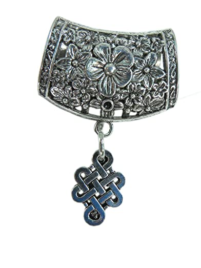 Amazon celtic scarf pendant bail slide set jewelry finding celtic scarf pendant bail slide set jewelry finding accessories for diy jewelry scarf necklace aloadofball Choice Image