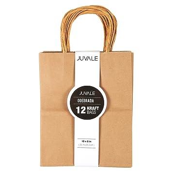 12 Count Brown Kraft Bags