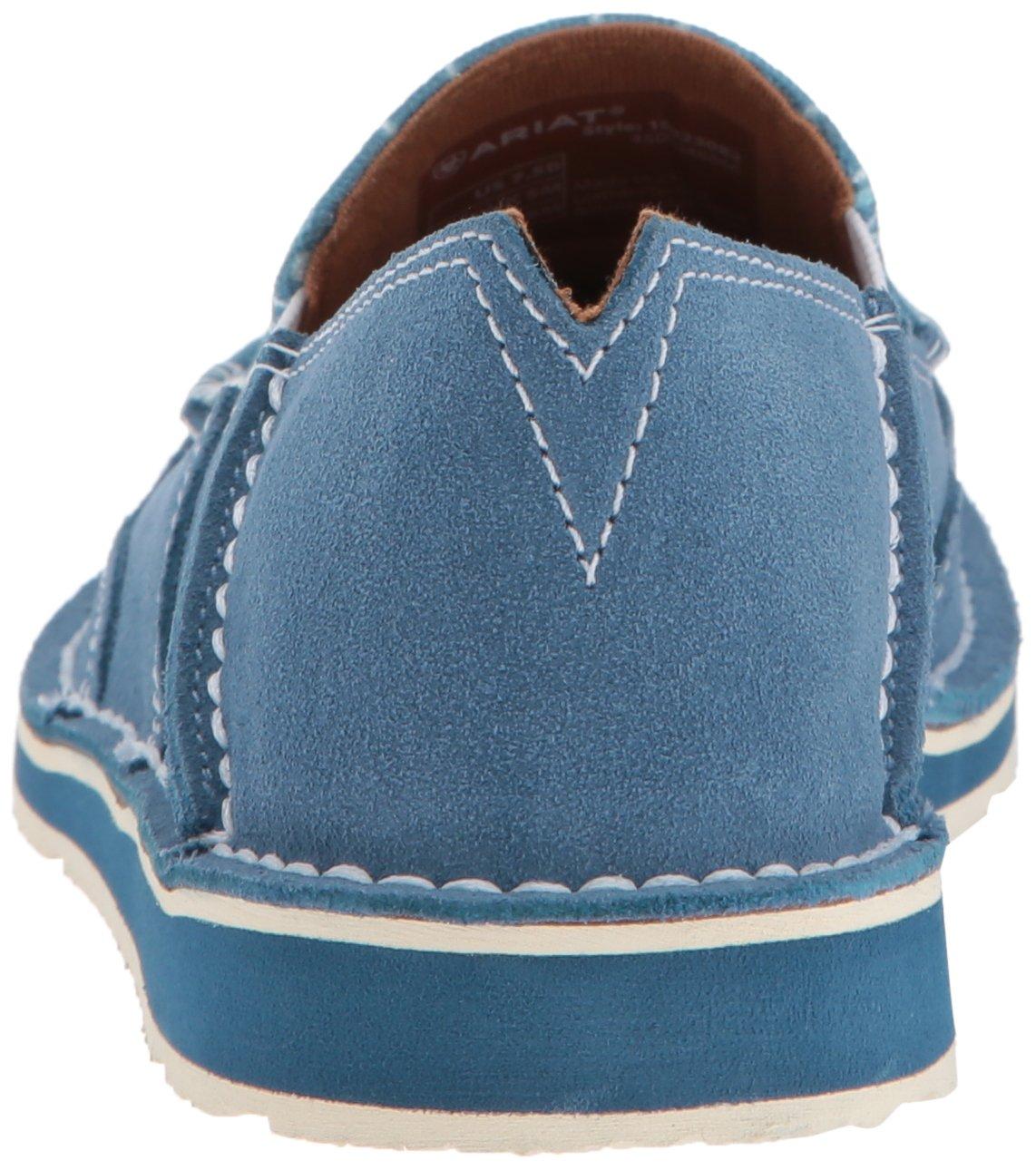 Ariat Women's English Cruiser Sneaker B076MFK6C9 10 B(M) US|Teal Snaffle British