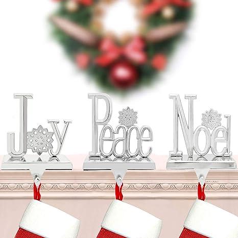 Noel Holiday Decor Noel Sign Christmas Stocking Stocking Hanger Christmas Stocking Holder Stocking Holder Christmas Decorations