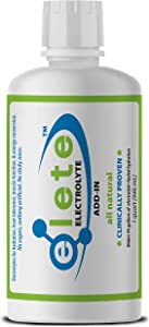 elete – Electrolyte Add-In – Team Size – 4 Essential Electrolytes Concentrate – All Natural – Transforms Any Drink into a Sports Drink – 32 oz