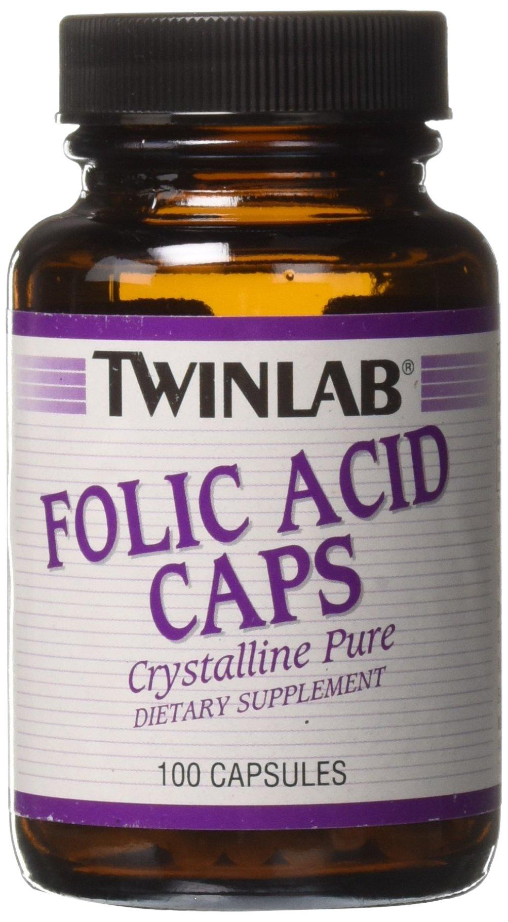 Folic Acid 800mcg Twinlab, Inc 100 Caps