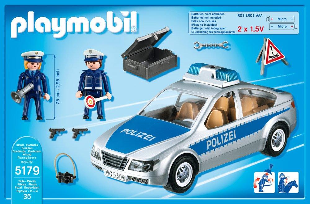 einkaufen am besten kaufen amazon playmobil polizeiauto blau sandra. Black Bedroom Furniture Sets. Home Design Ideas