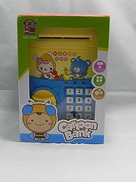 Hucha Electronica Infantil con CODIGO DE Seguridad: Amazon.es: Juguetes y juegos