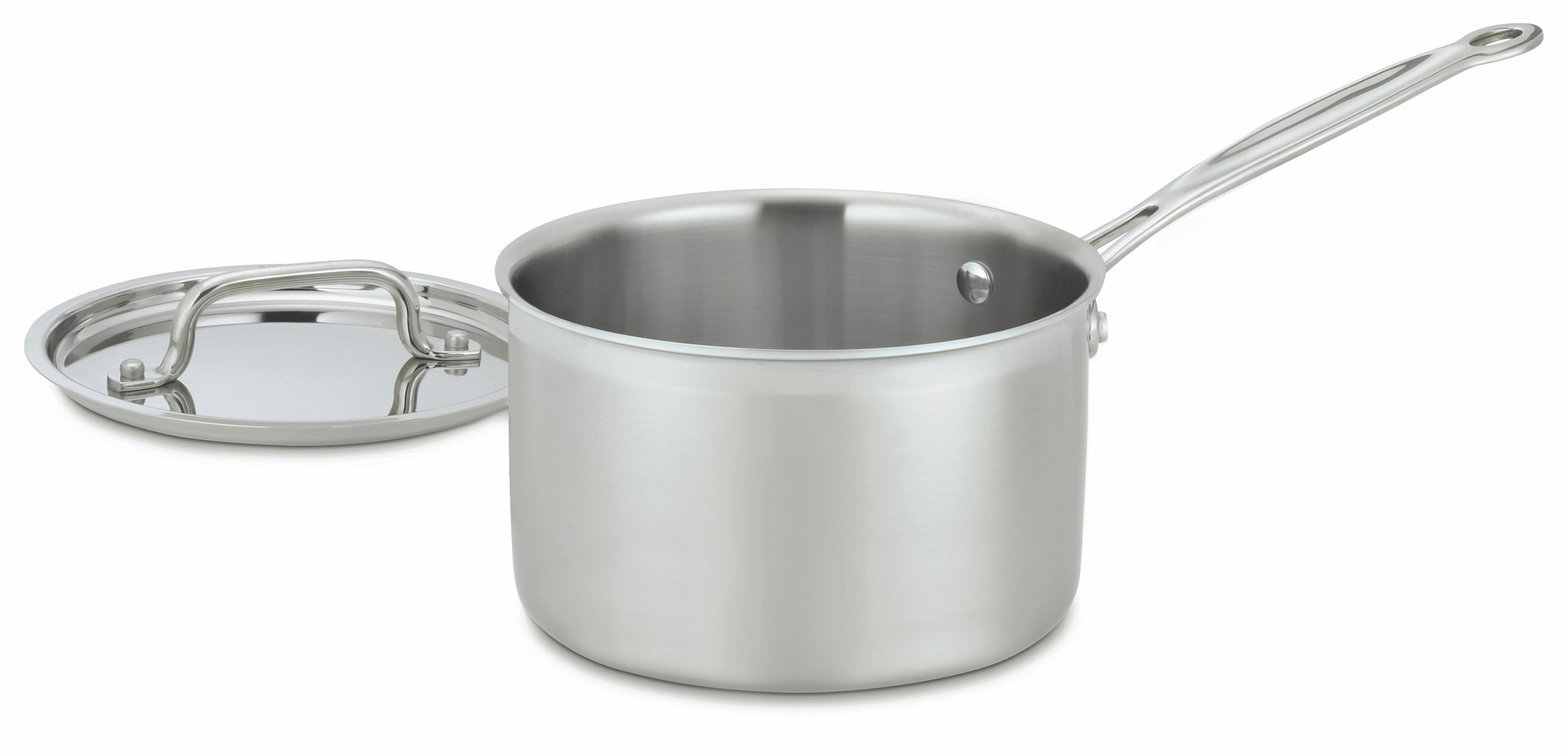 Cuisinart MCP193-18 MultiClad Pro Stainless-Steel 3-Quart Saucepan with Cover