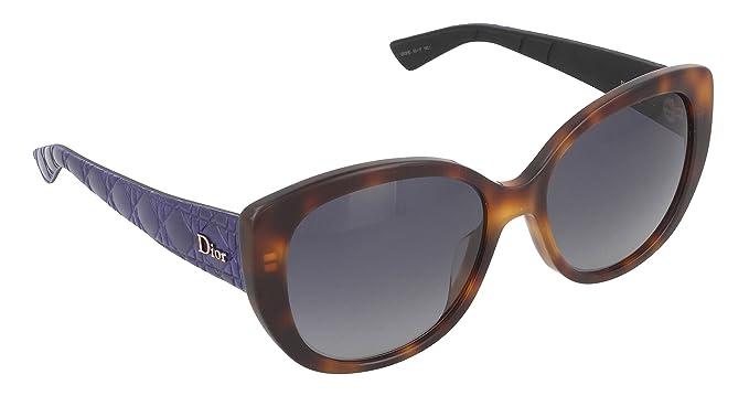 Christian Dior Damen Sonnenbrille Schwarz Black Blue ehgiRJy1D