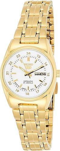 Amazon Com Seiko 5 Automatic Watch Symc02j1 Ladies Watches