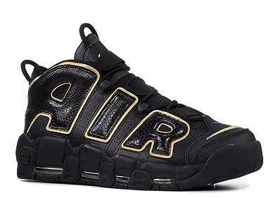 the best attitude e82ae d14b3 Nike Air More Uptempo 96 France QS Chaussures de Fitness Homme, Noir (Black