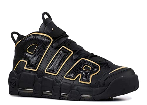 new styles b3000 159d0 Nike Men s Air More Uptempo  96 France Qs Fitness Shoes, (Black Metallic