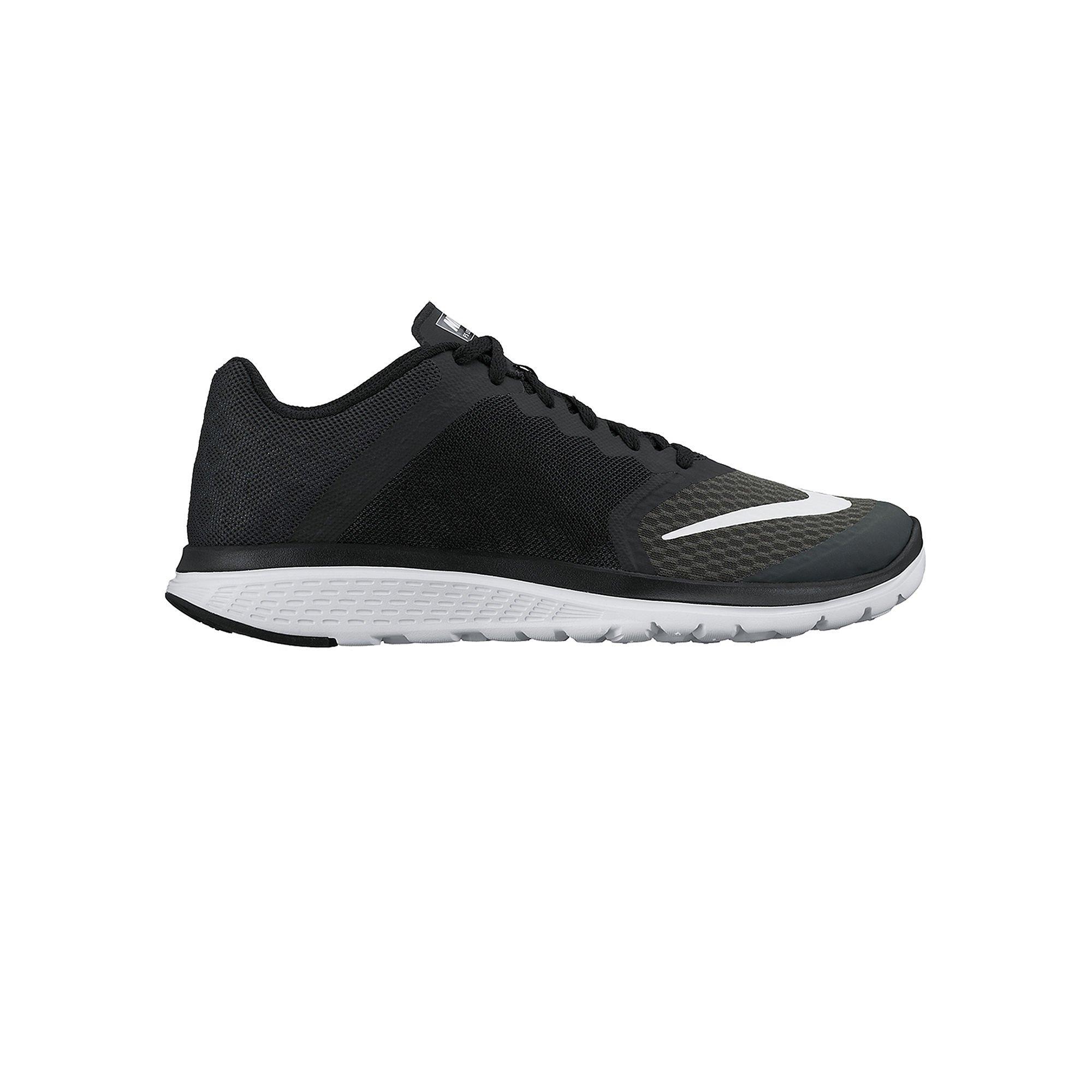 b86ab40bc1647 Galleon - Nike Women s FS Lite Run 3 Running Shoe Anthracite Black White  Size 10 M US