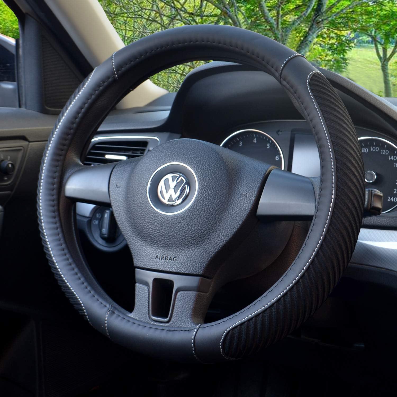 shop amazon com steering wheel coversbokin steering wheel cover, microfiber leather and viscose, breathable, anti slip,