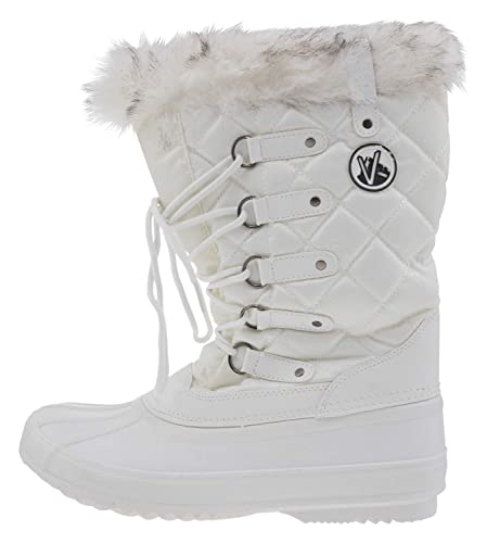 KIMBERFEEL Damen Winterstiefel ELSA: : Schuhe