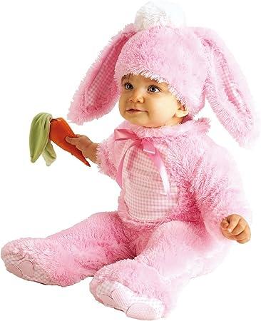 Rubbies - Disfraz de conejo para bebé niña, talla 0-6 meses ...