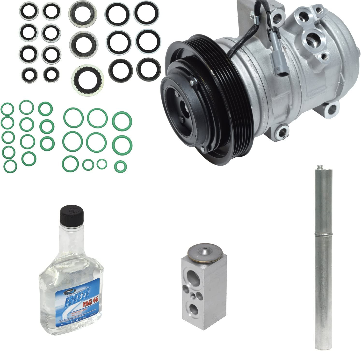 Universal Air Conditioner KT 4798 A//C Compressor//Component Kit