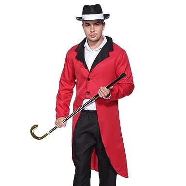 Adult Men Women Circus Ringmaster Jacket Costume Fancy Dress Tailcoat Outfit (Medium Men)  sc 1 st  Amazon.com & Amazon.com: Adult Men Women Circus Ringmaster Jacket Costume Fancy ...