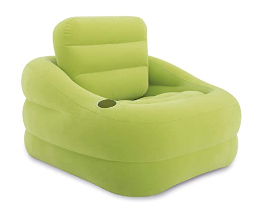 Intex 68586 Sillón Accent, PVC, Verde, 97 x 107 x 71 cm: Amazon.es ...