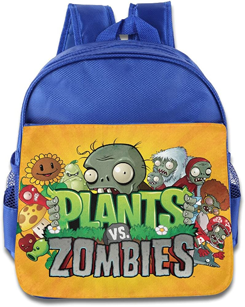 Amazon.com: Plants Vs Zombies Kids School Backpack Bag: Toys ...