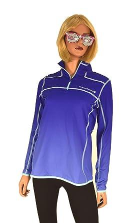2ecf4dd9d615b8 Vineyard Vines Women's Performance Ombre Shep Shirt 1/4 Zip (Socialite, XX-