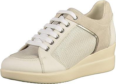 Anormal Rubicundo Cantidad de dinero  Geox D Stardust B, Zapatillas para Mujer: Amazon.es: Zapatos y complementos